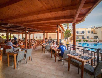 Blue Aegean Hotel & Suites in Gouves Restaurant