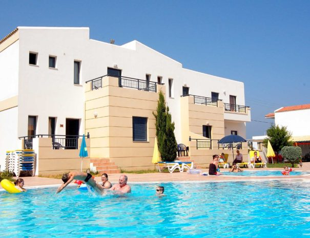 Blue Aegean Hotel & Suites in Gouves Crete - Swimming Pool