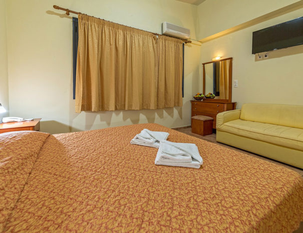 Blue Aegean Hotel in Gouves - Family Two Bedroom Suite Master Bedroom