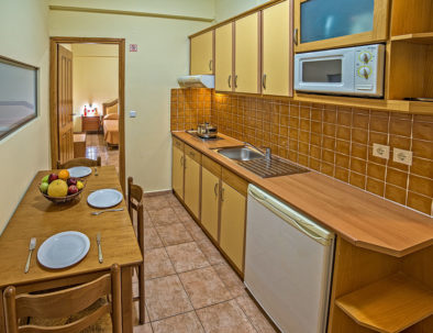 Blue Aegean Hotel & Suites in Gouves - Family Two Bedroom Suite Kithen