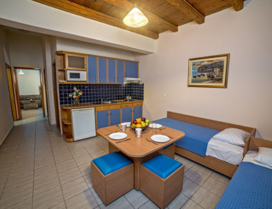 Blue Aegean Hotel in Gouves Superior Two Bedroom Suite Living Room
