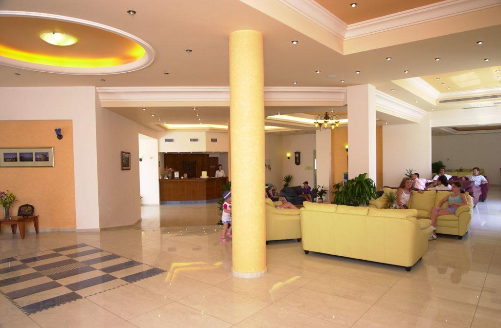 Blue Aegean Facilities - Reception Hotel Gouves Crete