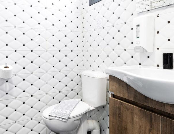 New Bathroom in Annex Building