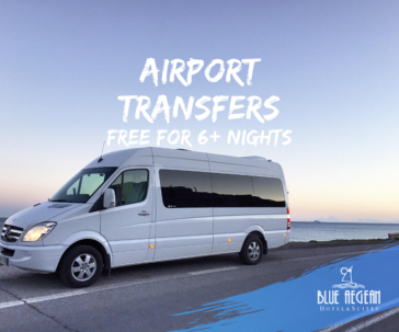 Airport Transfers Free for reservations with 6 overnights and more